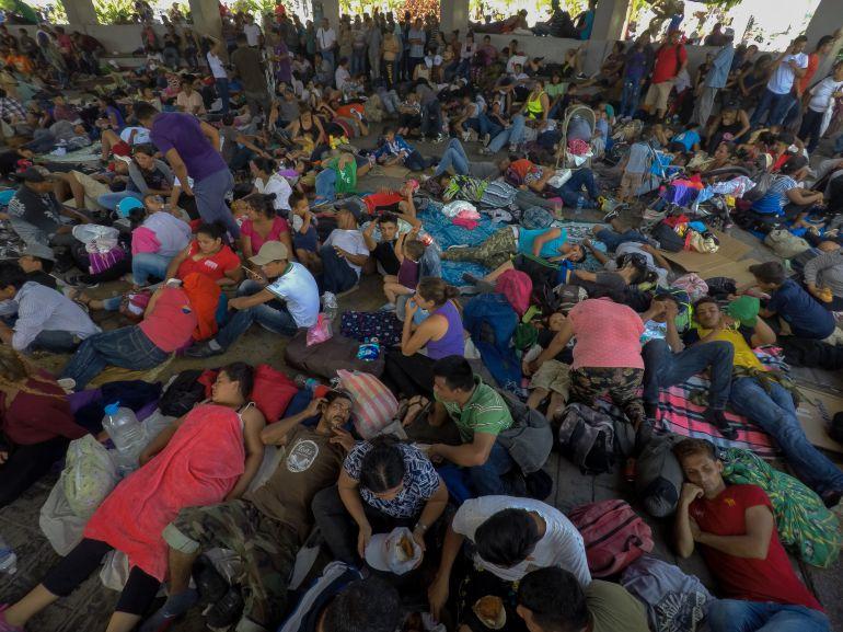 migrantes, Senado: Senado pide protección para migrantes