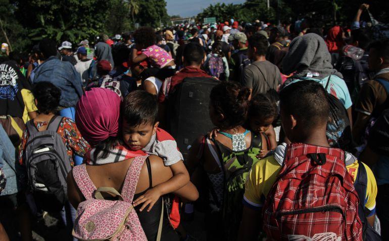 caravana migrante, Renato Sales: Caravana migrante no es peligro de seguridad nacional: Renato Sales