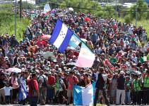 SRE: Descartado conflicto diplomático entre México y EU por caravana migrante