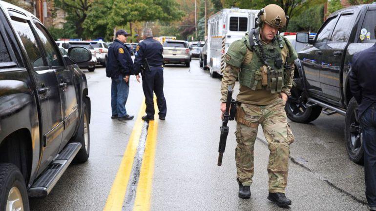 Registran tiroteo en sinagoga de Pittsburgh