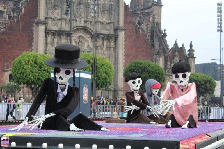 desfile Día de Muertos, mega ofrenda: Inauguran ofrenda monumental en el Zócalo