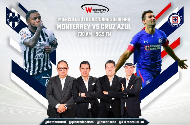 Cruz Azul y Monterrey juegan la gran final por W Radio