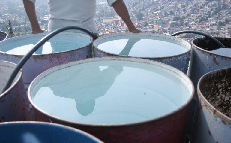 Inicia corte de agua en la CDMX
