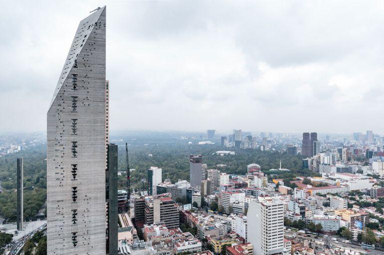México tiene el mejor rascacielos del mundo, Torre Reforma