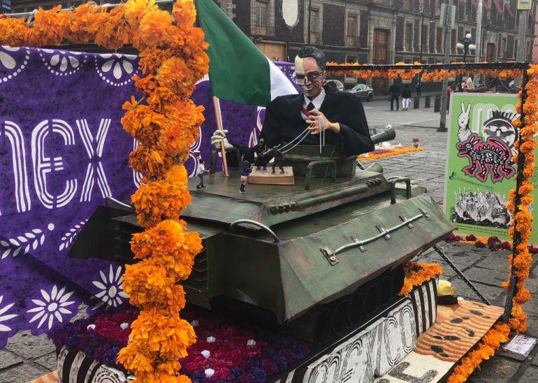 Megaofrenda UNAM, 68: Dedican Megaofrenda UNAM a los caídos del 68