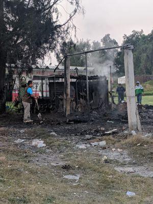 Vuelven a explotar polvorines en Tultepec