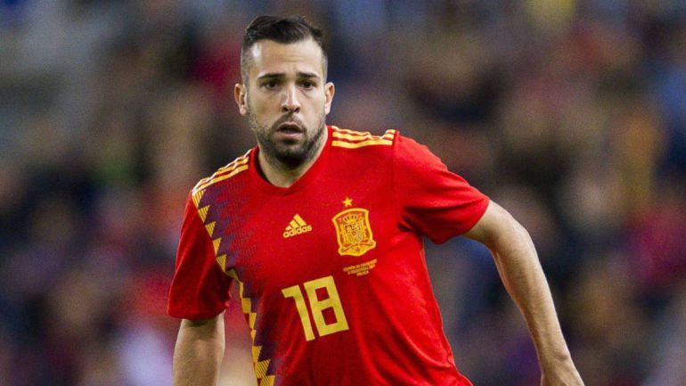 Jordi Alba regresa a la Selección de España