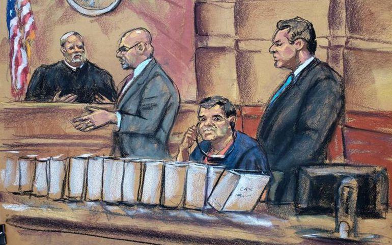 Joaquín Guzmán Loera, juicio: Integran jurado para el juicio de 'El Chapo'