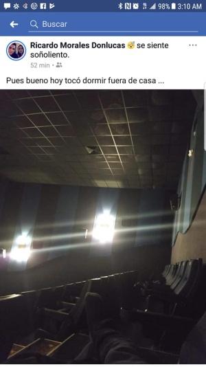 encerrado cine
