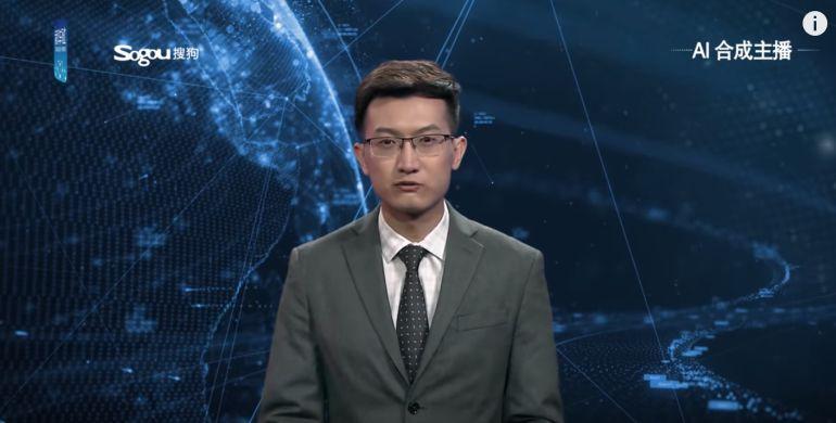 Robot debuta como presentador de noticias