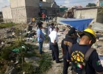 Mueren dos tras explosión de polvorín en Tultepec