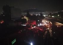 Caos en la México-Pachuca