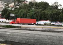 En la México- Pachuca continúa el bloqueo