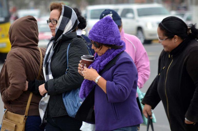 Frío y bajas temperaturas continúan