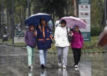 Se esperan fuertes lluvias y caída de agua nieve en el Valle de México