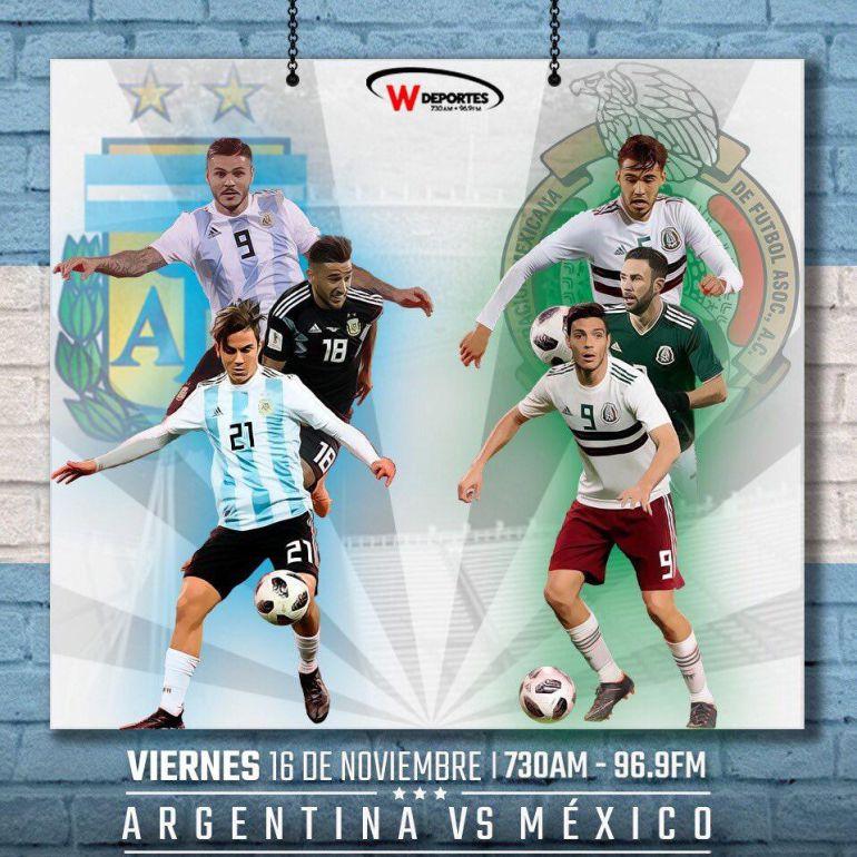 México se prueba ante Argentina