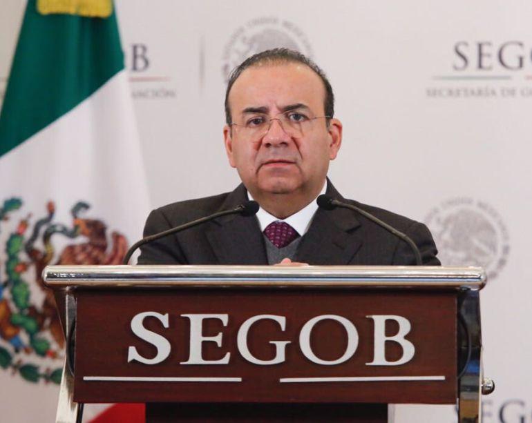 Navarrete Prida, Plan Nacional: Apoya Segob el Plan Nacional de Paz y Seguridad de AMLO
