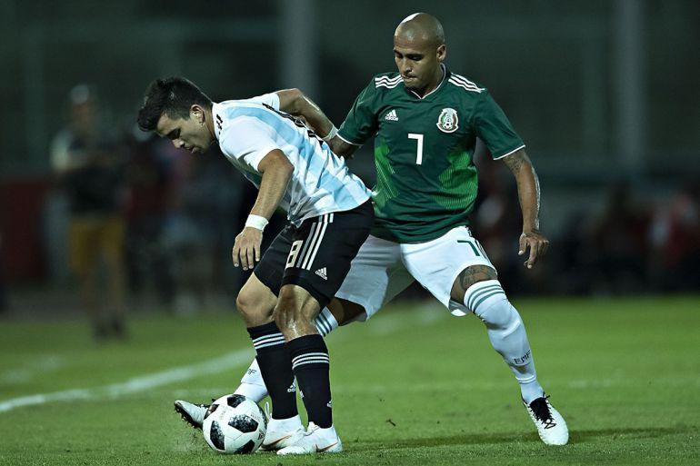 La Selección Mexicana perdió ante Argentina