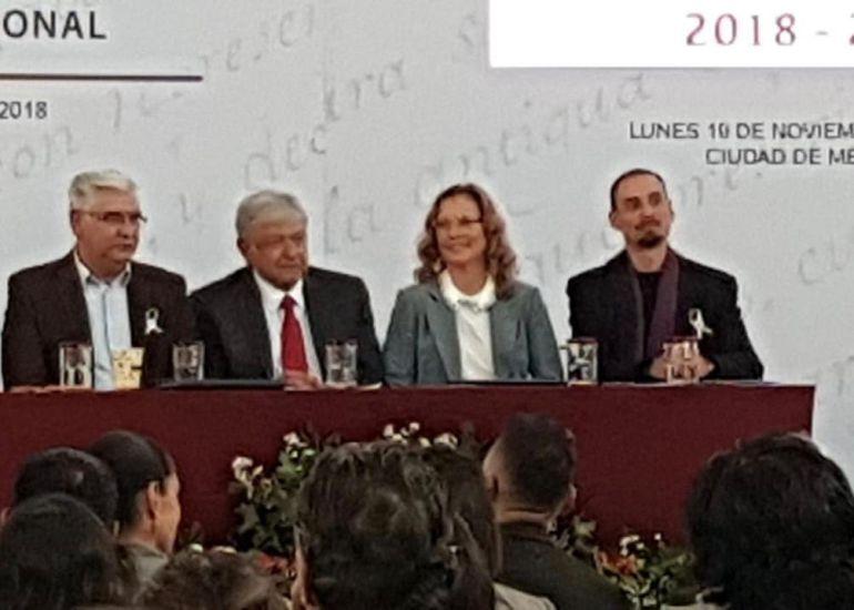 Presenta AMLO iniciativa Memoria Histórica y Cultural de México