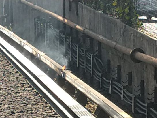 Línea 2 del Metro vuelve a fallar