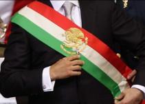 Cambian orden de colores de la Banda Presidencial