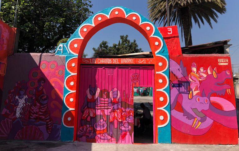 Comex, murales, Iztapalapa: Comex pinta de colores a la CDMX y 12 estados de la República