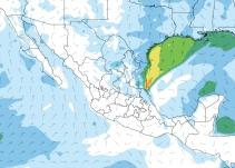 Frente Frío 12 desencadenará bajas temperaturas y caída de aguanieve
