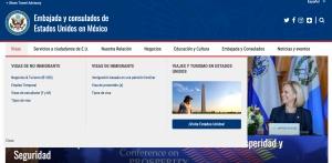 visa embajada de estados unidos