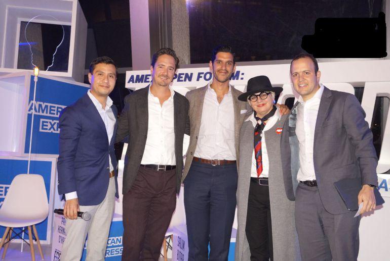 Empresarios comparten experiencias exitosas en el Amex Open Forum Forward