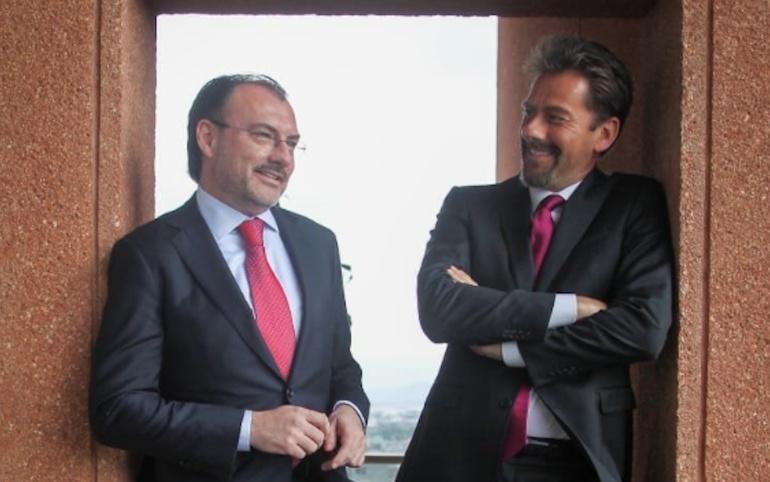 La última entrevista del canciller Luis Videgaray a conductores de La Corneta