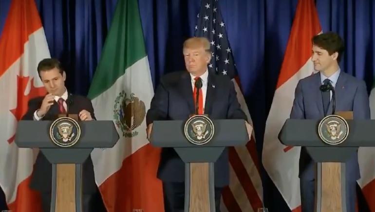 La última de Peña Nieto; rompe micrófono en cumbre del G-20
