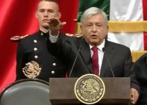 López Obrador rinde protesta como presidente de México