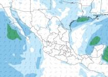 Frente Frío 14 causará descenso de temperatura y probabilidad de tormentas en el país