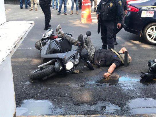 Se enfrentan policías y delincuentes en Benito Juárez