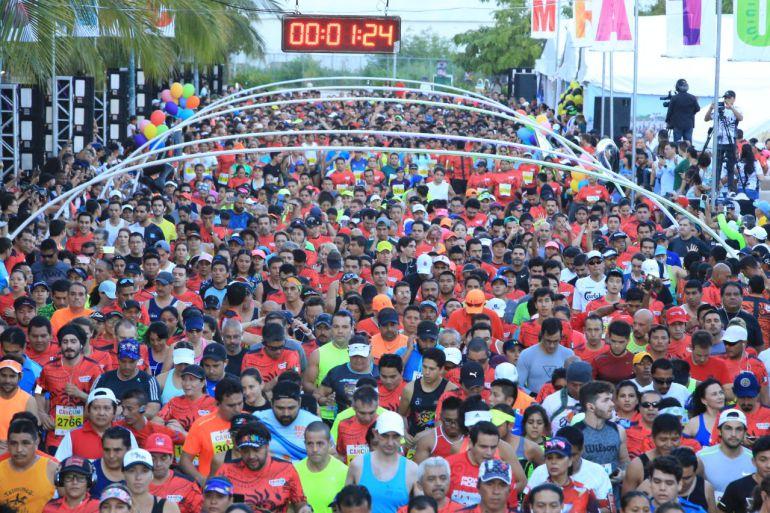 Todo un éxito el maratón de Cancún