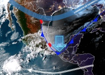 Frente Frío 16 causará descenso de temperaturas en gran parte del país