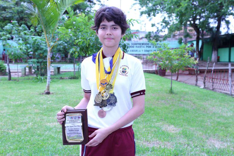 Chiapaneca gana medalla de oro en la Olimpiada Mexicana de Matemáticas