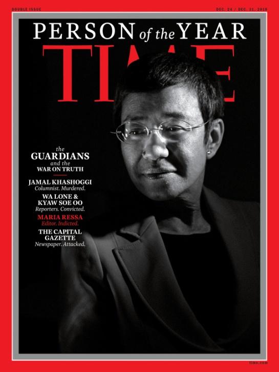 Time: Periodista saudí asesinado, Persona del Año