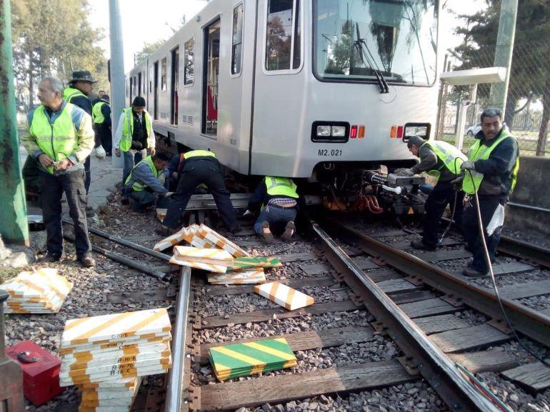 Se restablece servicio del Tren Ligero