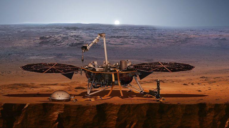 [Video] Descubre como suena el viento en Marte