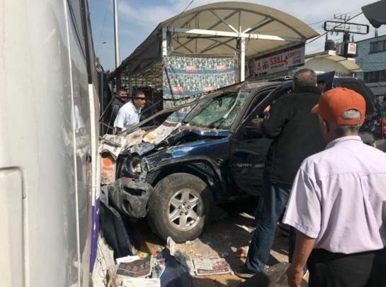 accidente en metro potrero