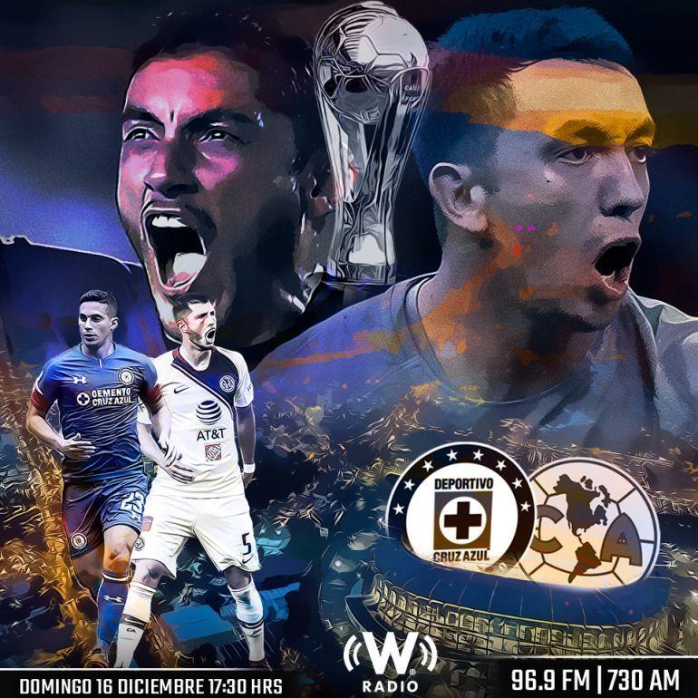 Cruz Azul y América juegan la Gran Final del Futbol Mexicano