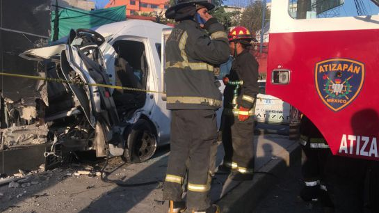 Trágico accidente en Atizapan