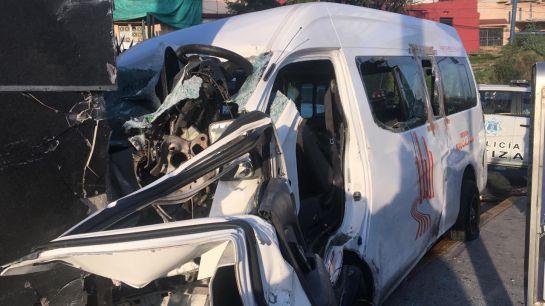 Trágico accidente en Atizapan