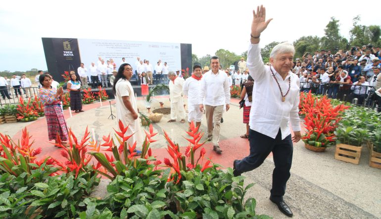 AMLO, Tren Maya, Chiapas: AMLO anuncia estímulos para quienes inviertan en el Tren Maya