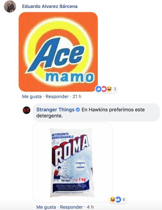 Stranger Things Roma comentarios