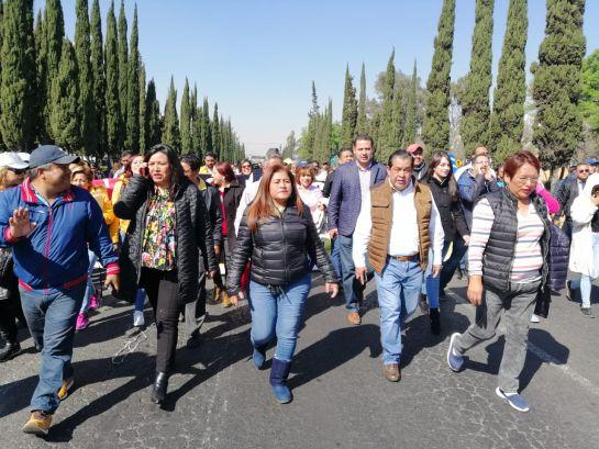 Protestan alcaldes del PRD por presupuesto para municipios del país