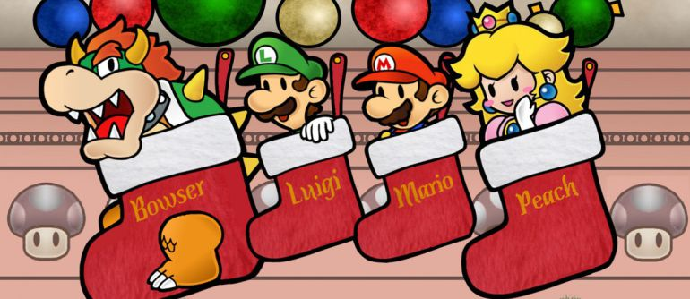 Gamers disfrutan así la Navidad