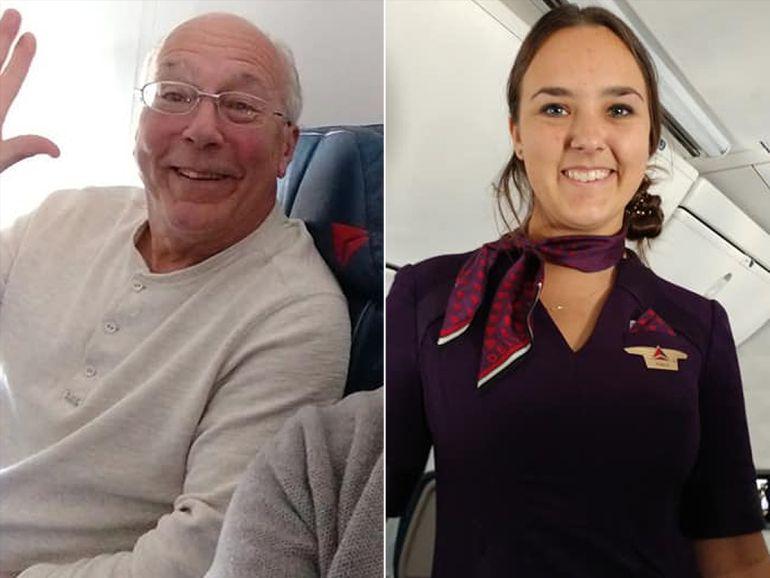 Quería pasar Nochebuena con su hija aeromoza y reservó 6 vuelos