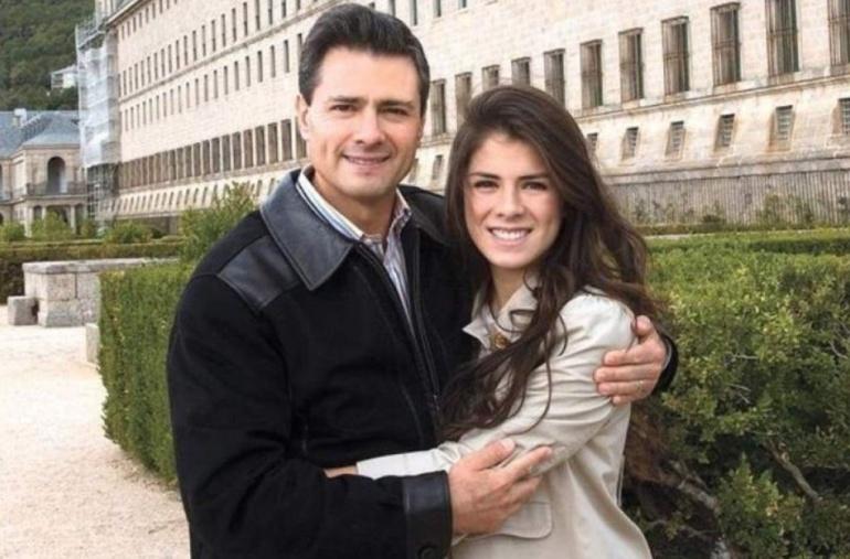 Peña Nieto da emotivo regalo a su hija Paulina Peña en Navidad